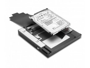 2. pevný disk namísto DVD mechaniky pro Lenovo ThinkPad T400, T410, T500,...