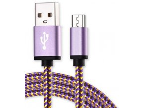 Micro USB Purple