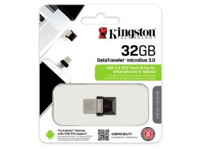 Kingston DataTraveler MicroDuo 32GB, USB 3.0 1