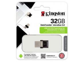 Kingston DataTraveler MicroDuo 32GB, USB 3.0 1