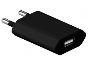 USB nabíječka pro mobilní telefony Černá