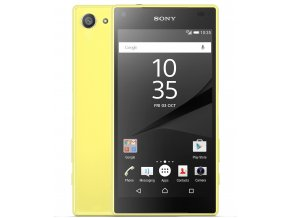 Sony Xperia Z5 Compact Yellow 1