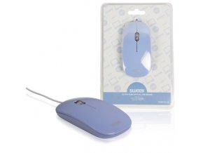 SWEEX Optická myš, USB, 1 000 dpi, fialová