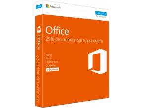 Microsoft Office 2016 pro domácnosti a podnikatele CZ 3