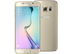Samsung Galaxy S6 Edge Gold Platinum 32GB 1