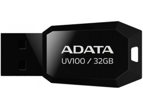 ADATA UV100 Flash Disk 32GB USB 2.0 Černý
