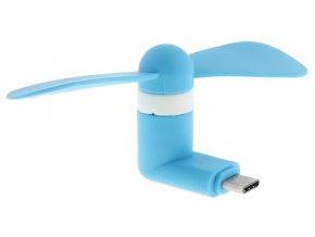 USB C Větráček – Modrý