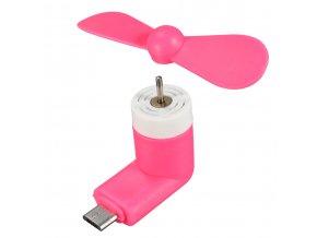 USB C Větráček – Růžový