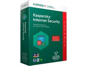 Kaspersky Internet Security 2018, CZ, 1 Zařízení, 1 Rok