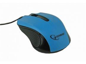 GEMBIRD myš MUS-101, optická, USB, modrá
