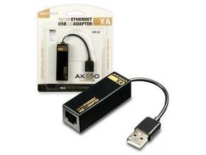 AXAGON ADE XA Redukce z USB 2.0 na Ethernet 1
