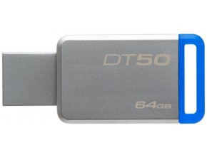 Kingston DataTraveler DT50 64GB, USB 3.0, Kovový 2