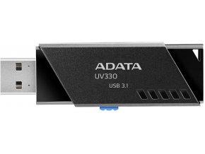 ADATA UV330 Flash Disk 64GB, USB 3.0, Černá