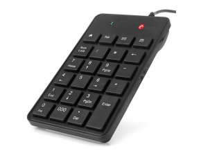 C-TECH klávesnice numerická KBN-01, USB slim black
