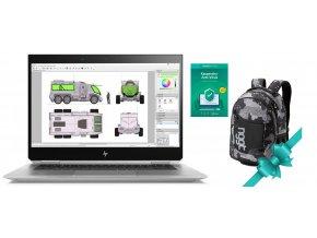 Hp ZBook 15 Studio x360 G5  + Batoh Nugget Rapid Backpack a Kaspersky Anti-Virus v celkové hodnotě 1789,- ZDARMA