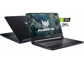 Acer Predator Triton 500 PT515-51-74E7  Elegantní celokovové provedení! + MYŠ TRUST ZIVA A PODLOŽKA ZDARMA