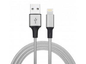 Synchronizační a nabíjecí kabel lightning - 1,8m - Šedý