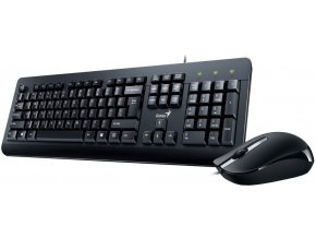 Drátový set klávesnice s myší Genius KM 160 1