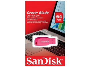 SanDisk Cruzer Blade Flash Disk 64GB, USB 2.0 1