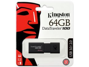 Kingston DataTraveler100 G3 USB Flash Disk 64GB 1