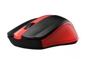 Bezdrátová Myš C-TECH WLM-01 - Červená