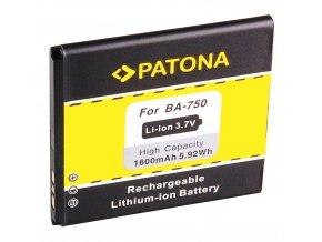 Aku Sony Ericsson BA750 1600mAh 3,7V Li-Ion LT15i/LT18i