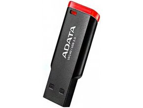 ADATA UV140 USB Flash Drive 32GB, USB 3.2 Černo červená (2)