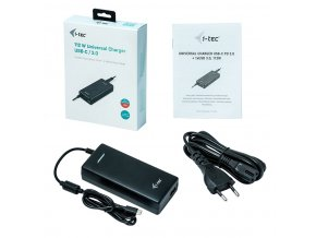 iTec 112W Universal Charger USB C 3 (1)