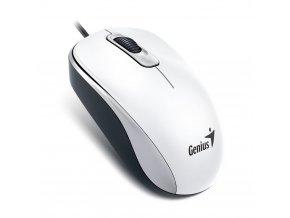 Genius myš DX-110, drátová, 1000dpi, USB, bílá