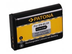 Aku Nikon EN-EL23 1400mAh Li-Ion