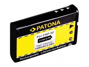 Aku Casio NP-90 1400mAh Li-Ion