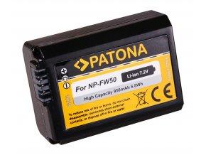 Aku Sony NP-FW50 950mAh Li-Ion