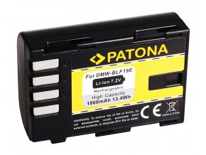 Aku Panasonic DMW-BLF19 1860mAh Li-Ion
