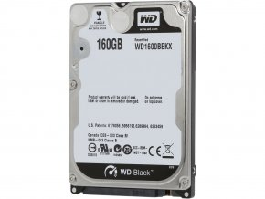 HDD 160GB, SATAII 7200RPM, 32MB cache, 2.5''