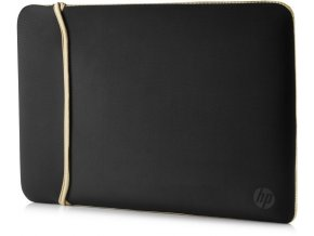 "HP 15.6"" Reversible Sleeve – BlackGold 1"