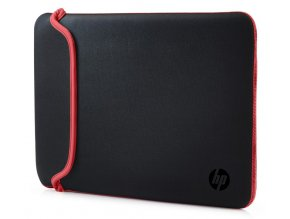 "HP 15.6"" Chroma Reversible Sleeve – BlackRed 1"