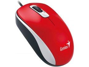 Drátová Myš Genius DX 110 Červená 1