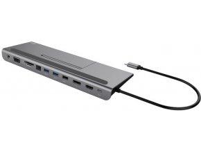 iTec USB C Metal Low Profile 4K Triple Display Dokovácí stanice 1