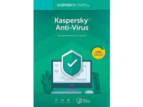 Kaspersky Anti Virus 2019, CZ, 1 PC, 1 Rok 1