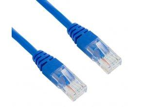 Síťový kabel, UTP 5 m, Modrý