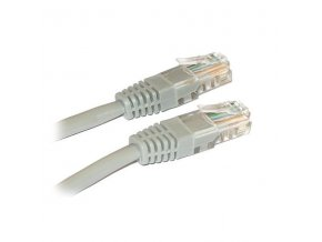 Síťový kabel, UTP 5 m, Šedý