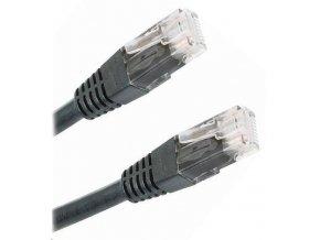 Síťový kabel, UTP 5m, černý