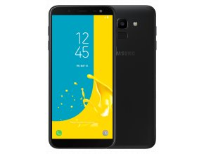 Samsung Galaxy J6 Black 1