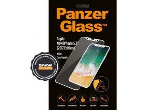 PanzerGlass pro Apple iPhone XXS bílé