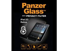 PanzerGlass pro Apple iPad 23 + Retina privacy 1