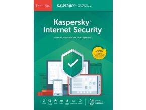 Kaspersky Internet Security 2019, CZ, 1 Zařízení, 1 Rok