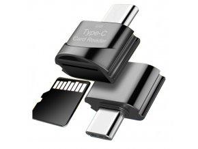 Redukce z USB C na Micro SD kartu