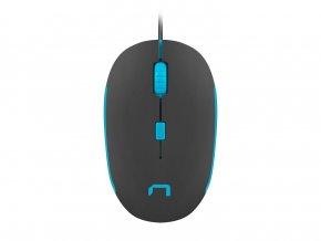 Optická Myš Natec Sparrow Černo modrá 1
