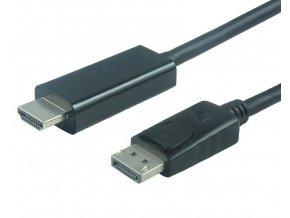PremiumCord redukce DisplayPort – HDMI, 2 m