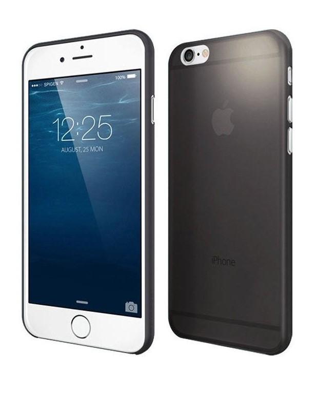 Fotografie Ochranný kryt pro Apple iPhone 6/6s ultra tenký 0,3mm, černý